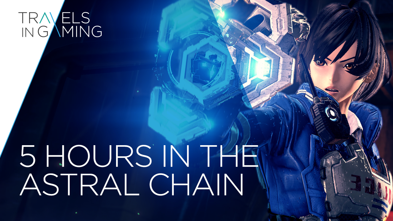 My first 5 hours with Astral Chain | Travels in Gaming