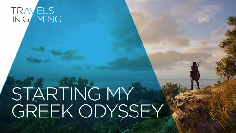 Starting my Greek Odyssey | Assassin's Creed Odyssey